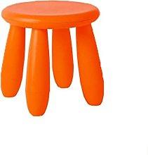 YQG Silla de plástico para niños, taburete