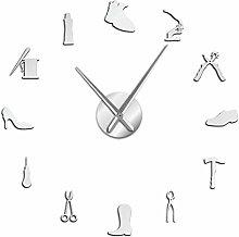YQMJLF Reloj Pared DIY 3D Grande Reparación