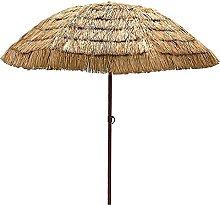 YRCWZF Paraguas de Patio de Estilo Tropical,