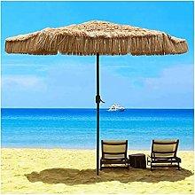 YRCWZF Sombrilla de Playa de Paja, 106in
