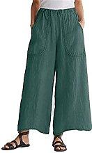 YUHUA-SHOP1983 Pantalones Casuales para Mujer