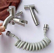 YUXIwang Kit de spray de bidé de mano para bidé,