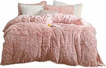 YZCH Fluffy Blanket with Pillow Cover 3 Pcs Set