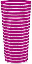 Zak ! Designs Vaso Swirl Rayas Fucsia 60 CL.