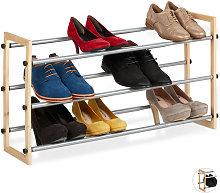 Zapatero Extensible, Estantería Zapatos,