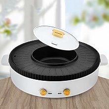 ZCME-power 2 IN 1 Barbacoa Hot Pot Separación