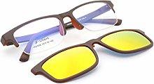 ZCR Espejos magnéticos Gafas de Sol polarizadas