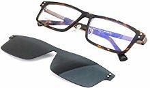 ZCR Magnética del Clip del Espejo Gafas de Sol