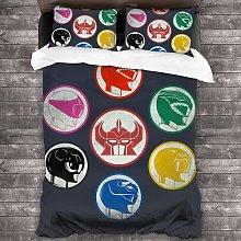ZGGJZJ Coole Power Rangers - Juego de ropa de cama