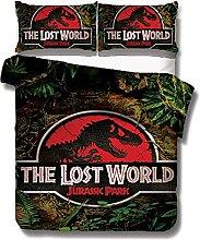 ZGGJZJ Jurassic World - Juego de cama (funda