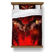 ZGGJZJ Lucifer - Juego de cama (135 x 200 cm,