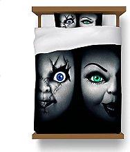 ZGGJZJ Ropa de cama de Bride of Chucky de 135 x