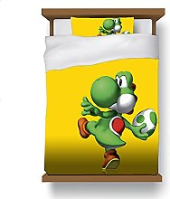 ZGGJZJ Yoshi Juego de ropa de cama infantil con