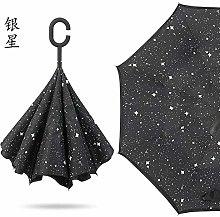 ZGMMM Sombrilla para Mujer, Paraguas de Lluvia