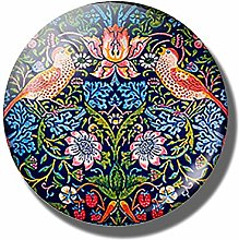 ZHEMAIE Imán para nevera con diseño de flores,