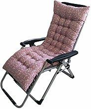 ZHKP Cojín largo para silla de cojín grueso y