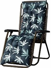 ZHKP Cojín para silla mecedora para tumbona al