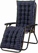 ZHKP Cojín para silla mecedora para tumbonas al