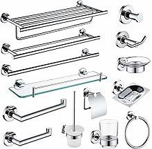 ZHNINGUR Set de hardware de baño Set de jabón