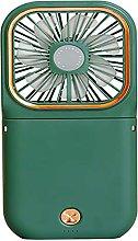 ZHOUJ Mini ventilador, banco de energía para