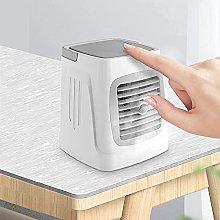 ZHOUJ Mini ventilador portátil del acondicionador