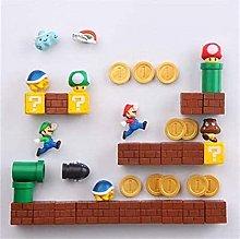 ZHYHAM 1 Unidades de resina 3D lindo Super Mario