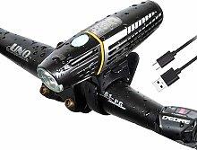 ZIHAOF 2200mAh Foco Bicicleta, LED Luces Bicicleta