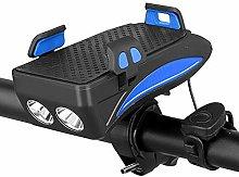 ZIHAOF LED para Bicicleta, IPX6 Impermeable Faro