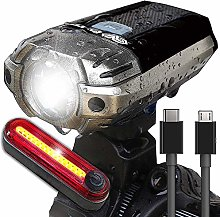 ZIHAOF Luces Bicicleta LED, 390LM Juego De Luces