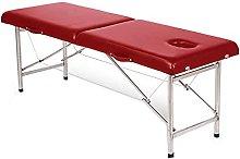 Zjcpow Mesa de masaje plegable portátil