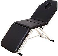 Zjcpow Mesa plegable de masaje plegable para cama