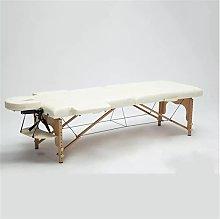 Zjcpow Mesa plegable de masaje plegable para spa,