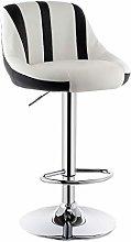 ZL Cuban Stripe Kitchen Bar Stools Chair con