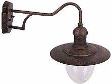 ZMY Americano Retro lámpara de Pared Porche