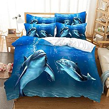 Zqylg Juego de ropa de cama con diseño de
