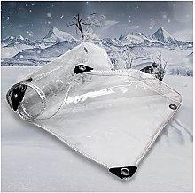 ZXCASDF Lona Transparente,Transparente Lona PVC