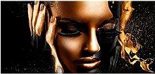 zxiany Arte de la Pared Africana Pinturas al óleo