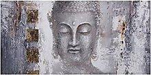 zxiany Carteles de Lienzo Lord Buddha Pintura al