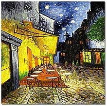 zxiany Impresiones en Lienzo Van Gogh Cafe Terrace