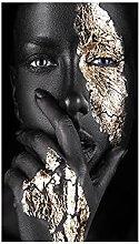 zxiany Lienzo Arte de la Pared Arte Africano Mujer