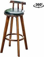 ZYLZL Taburete de bar, bar, restaurante, silla,