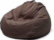 ZZX Funda de Bean Bag, Relleno para Puff Funda