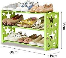 ZZYE Zapatero 3 Niveles Zapato de Zapatos